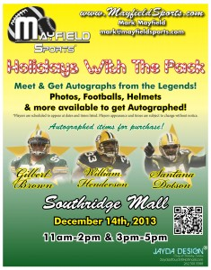 Green Bay Packers appearances - Holidays with the Pack 2013S