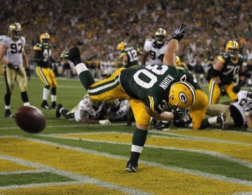 John Kuhn touchdown