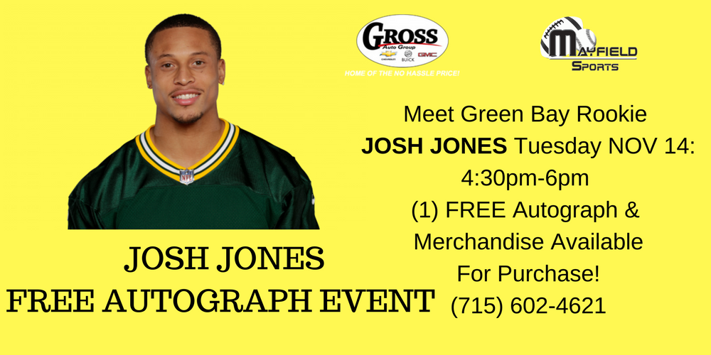 Josh Jones autograph session