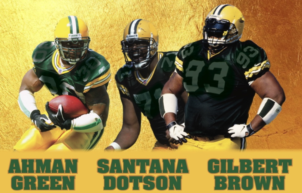 green dotson brown packers