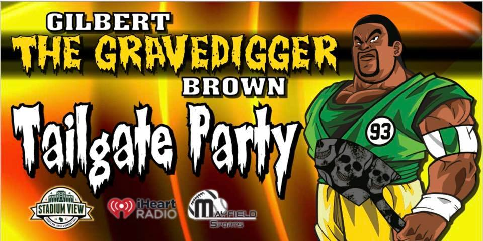 Gilbert Brown Tailgate Party
